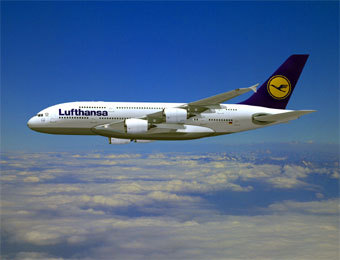 Заказ авиабилета в компании люфтганза